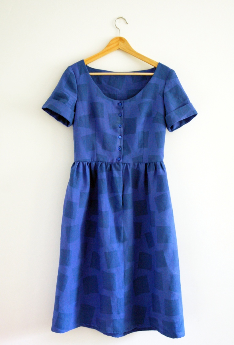 bluehollydress