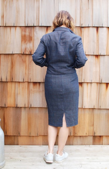 women's 2 piece moto jacket suit