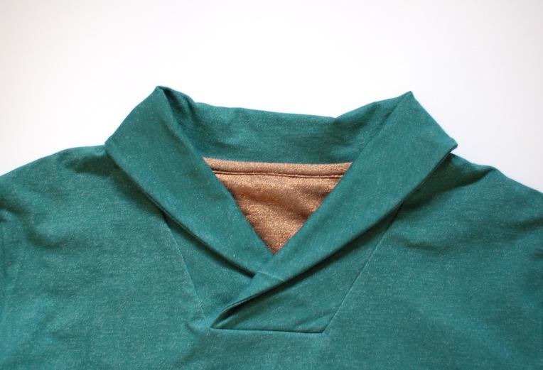 Finlayson sweater neckline